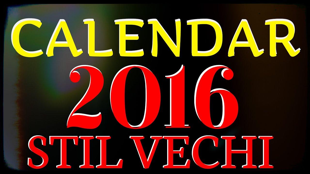 4000 x 2250 jpeg 456kB, Calendar 2016 Stil Vechi - YouTube