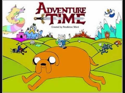 Adventure Time Theme REVERSED!!!!!