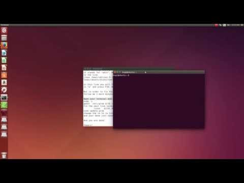 How to fix loading error after installing Ubuntu 14.04 LTS (HD)