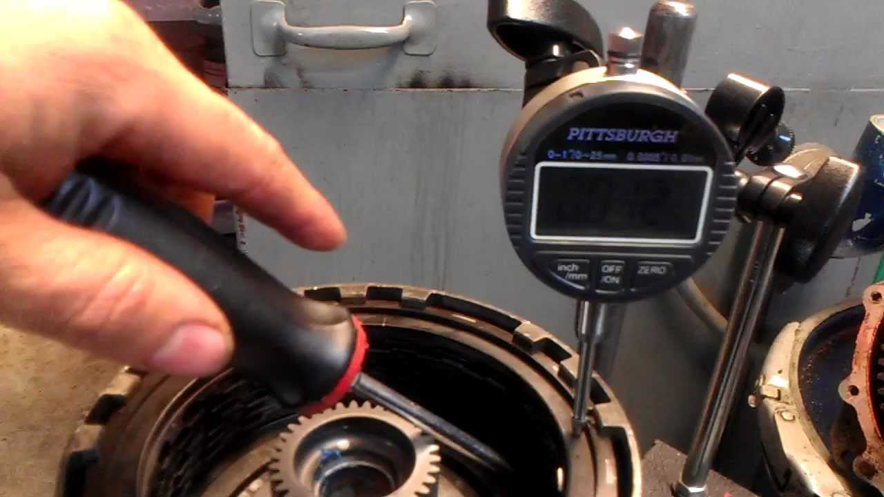 small resolution of 4l60 65 70 transmission 3 4 clutch clearance transmission repair youtube
