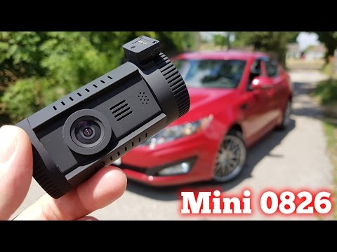 Mini 0826 Dash Camera With GPS REVIEW & Sample Videos