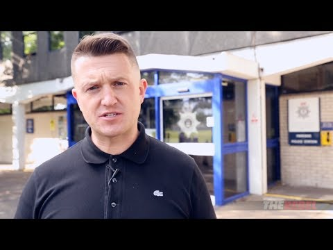 Tommy Robinson: I'm suing Cambridgeshire Police!