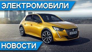 Электромобиль Вольво - Polestar 2, закат Chevrolet Volt, Tesla Model 3 в Китае, Peugeot e-208