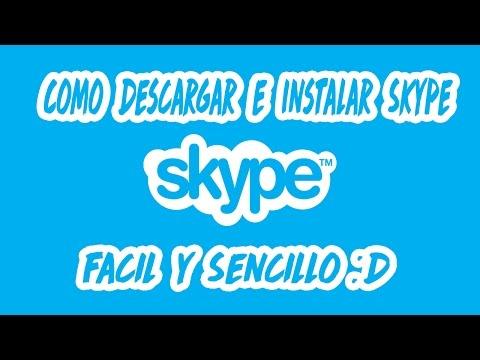 Cómo descargar e instalar Skype 2018 para windows seguro, fácil y rápido! :D
