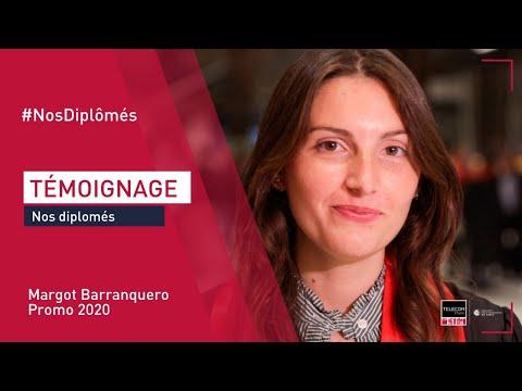 [Remise des diplômes] Témoignage de Margot Barranquero