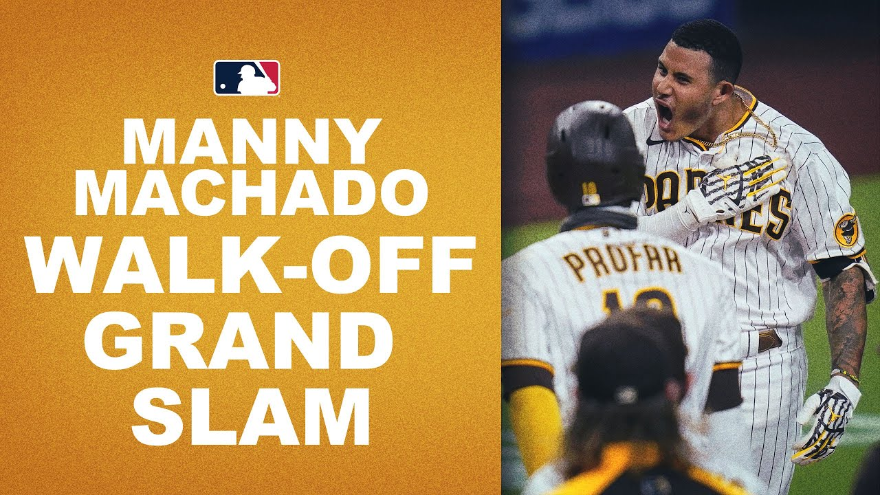 WALK-OFF GRAND SLAM! Manny Machado sends everyone home with the clutch slam!!
