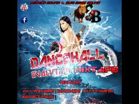 Dancehall Evolution Mixtape By Dj Lyon King Dj Shaba Dj Ty Mafia Selecta Guy (WS & SB )