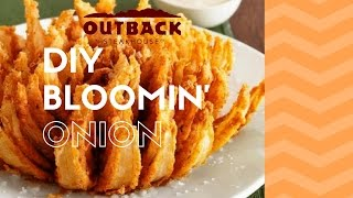 OUTBACK STEAKHOUSE BLOOMIN' ONION!!!