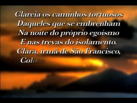 Oração a Santa Clara - Canção Nova - YouTube 90885fbf54