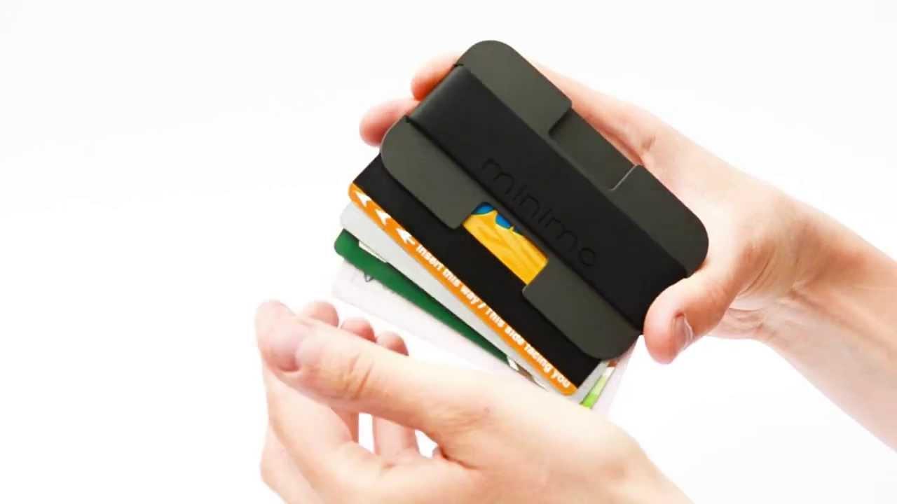 Minimo | A minimalist wallet w...