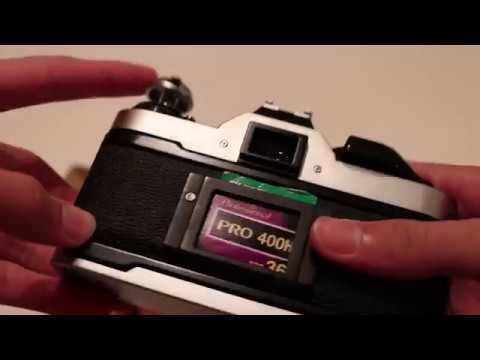 How To Unload Film From The Canon AE-1 Program (works On AE-1 As Well)
