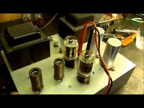 KT88 vs EL34 vs 6L6 Substitution In Vacuum Tube Amplifier.wmv