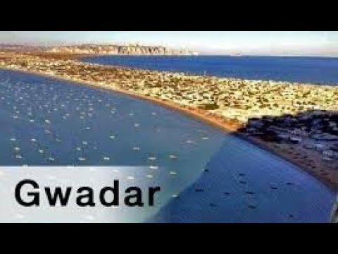 GWADAR Seaport in Persian Gulf || World Free Central Trade City Link via Pakistan