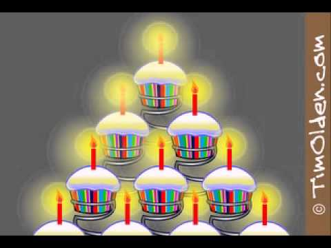 Birthday Cake Animation Youtube