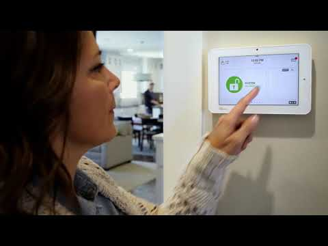 Qolsys Panel 2 - Security and Smart Home Control with Encryption Bluetooth Disarming