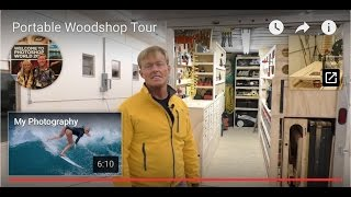 Portable Woodshop Tour
