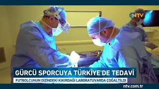 16 yaşındaki Gürcü futbolcuya Türkiye'de tedavi