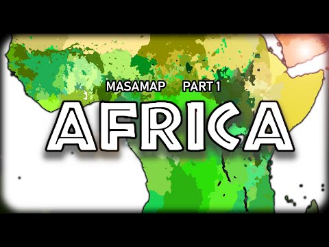 Masaman's 2021 Ethno-Racial Map of the World (Part 1: Africa)