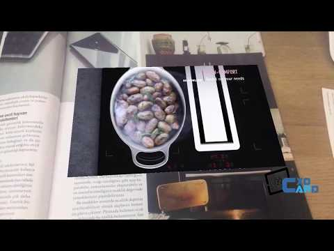 AR for Magazines - Augmented Reality - cxocARd - Cloud Based AR Platform