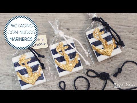 Manualidades Estilo Marinero.Packaging Con Nudos Marineros Youtube