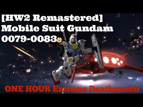 HOMEWORLD Remastered : GUNDAM Mod 3.1 ONE HOUR Extreme Deathmatch
