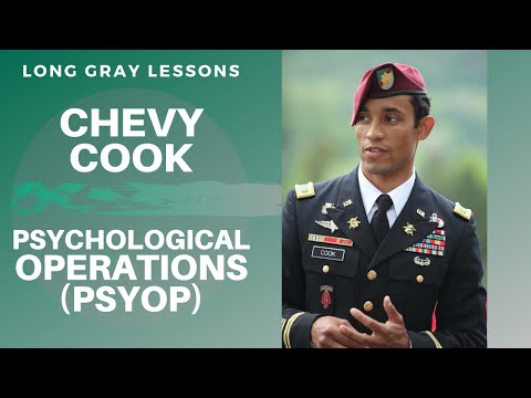 008 Long Gray Lessons With Psychological Operations (PSYOP) Officer Chevy Cook