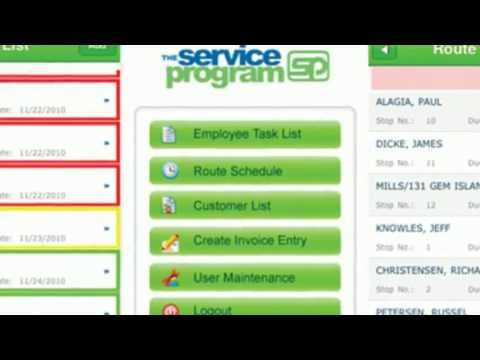 Scheduling + Invoicing + Routing + Mapping Software For QuickBooks | The Service Program