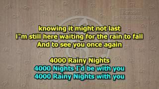 Stratovarius - 4000 Rainy Nights (Karaoke)