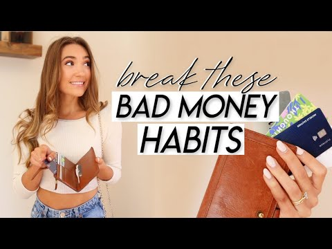 15 Bad Money Habits You Need to Break to SAVE MORE