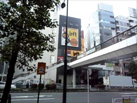 Walking Tour of Tachikawa, Japan - Tachikawa Monorail, Train Station