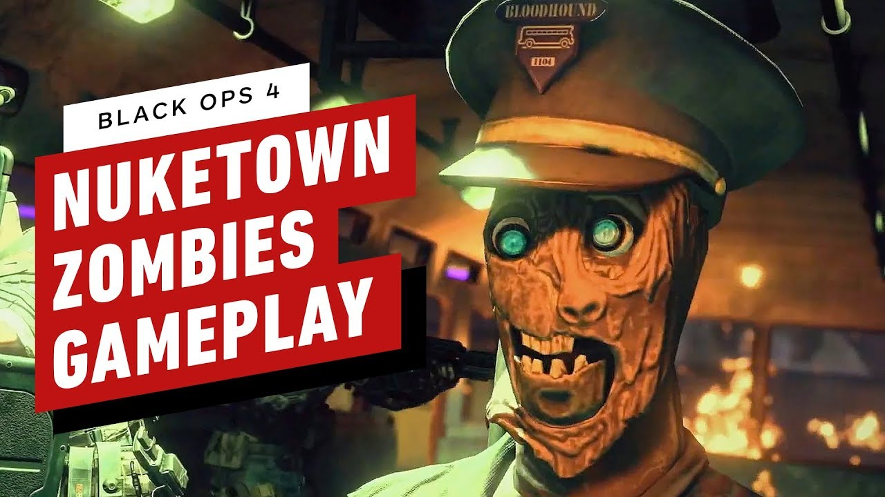 17 Minuten Alpha Omega (Nuketown) Zombies Gameplay - Call of Duty: Black Ops 4 + video