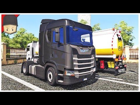 Euro Truck Simulator 2 - The First Truck!