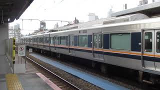 JR東西線321系三ノ宮駅到着