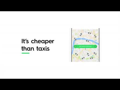 Get a Ride With the Taxify App!