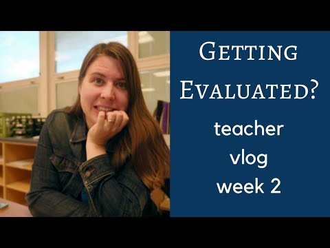 My First Evaluation and The Best PD Workshop | Teacher Vlog 2