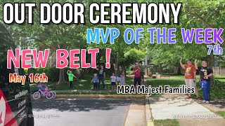 Outdoor 7th MVP and Belt Cerem…