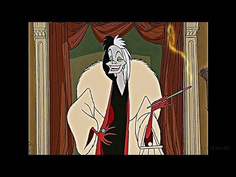 101 Dalmatians 1961 Scene: Cruella De Vil