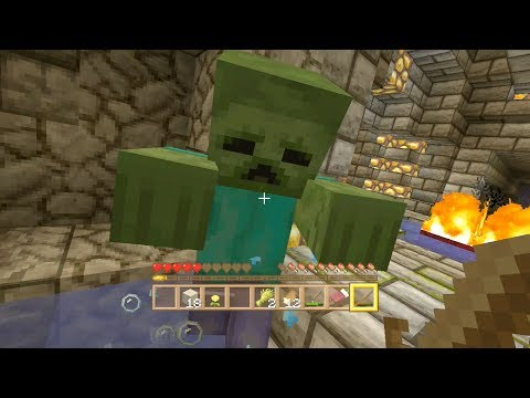 Minecraft Xbox - Quest For The Ark Of The Covenant - Bandits Lair - (2)