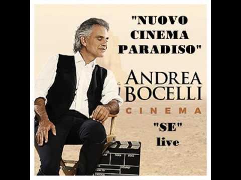 Andrea Bocelli   SE colonna sonora di Nuovo Cinema Paradiso