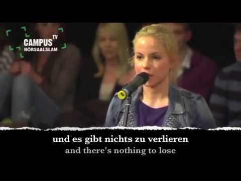 Learn German with Slam Poem
