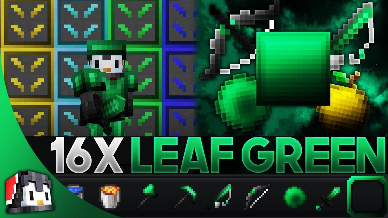 Denim 16x mcpe pvp texture. Leaf Green Revamp 16x MCPE PvP Texture Pack (FPS