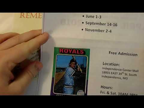 Sports Card Shows 2018 Announcementshoutouts In Missouri Indiana And Kentucky