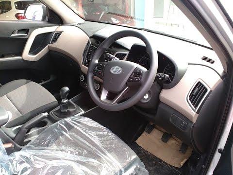 Hyundai Creta SX Model Interiors First Look mp4 Video | More on Description
