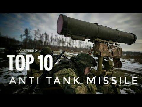 Top 10 Anti Tank Missile   ATGM Missile