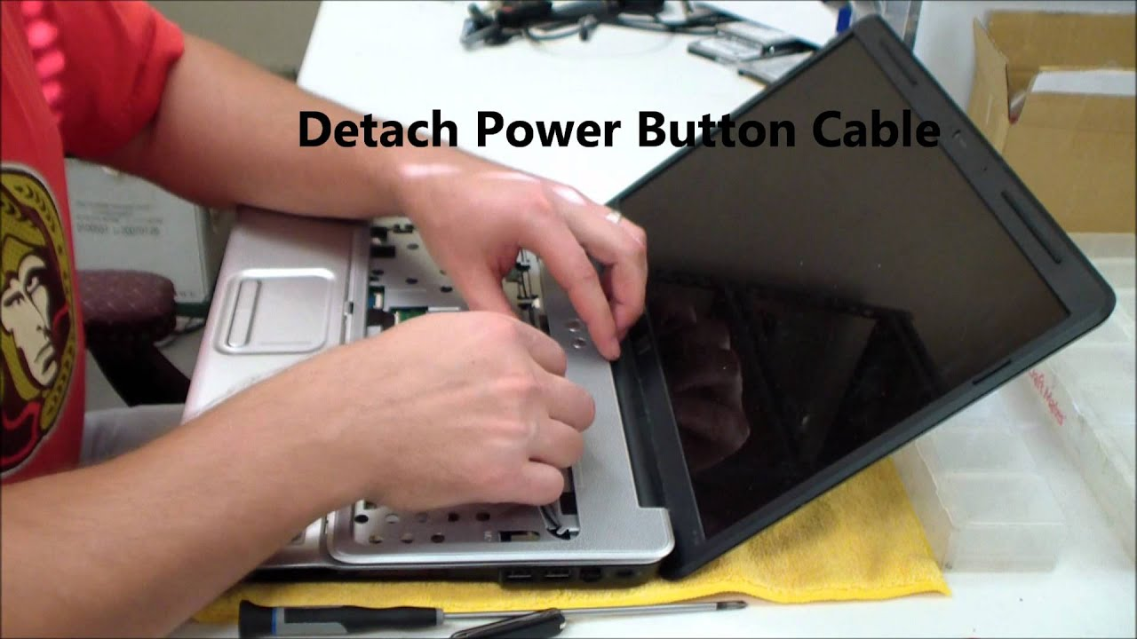 Hp G60 Dc Jack Repair Replacement Youtube Lcd Wiring Diagram