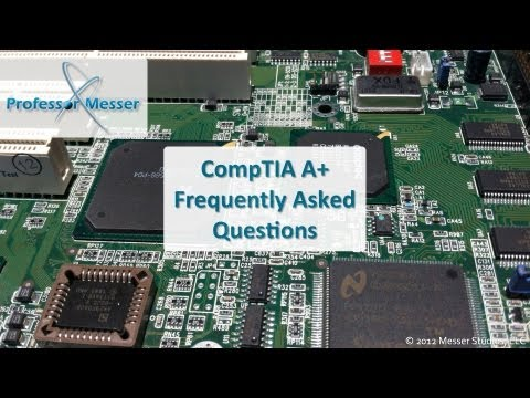 CompTIA FAQ: Can I pass my certification by just watching these videos?