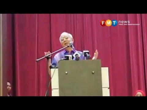 Saya tak dapat layanan baik, kata Najib