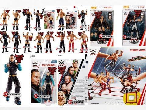 NEW WWE FIGURE PLAYSET, ELITES + MORE!