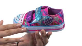 SKECHERS KIDS Shuffles - Classy Sassy Lighted 10336N (Toddler)  SKU:#8242841
