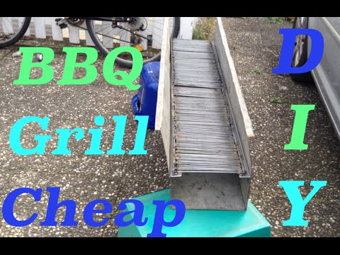 DIY - Barbecue Grill on a Budget